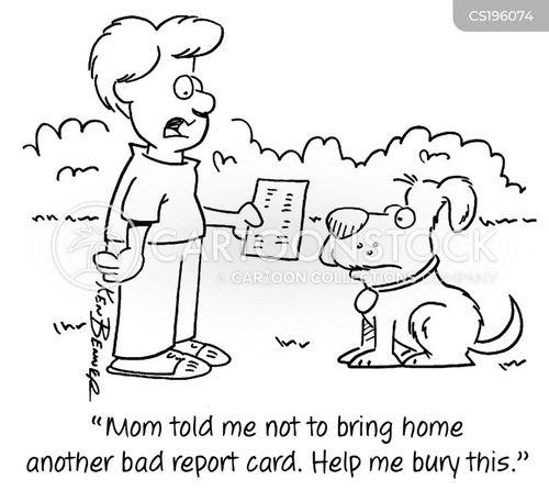 burying cartoon