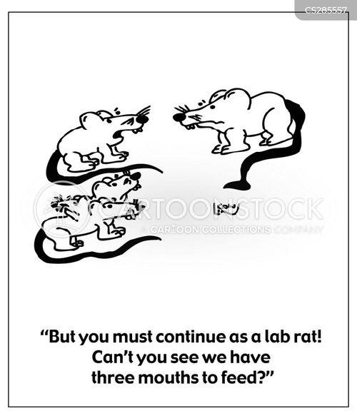 growing family cartoon