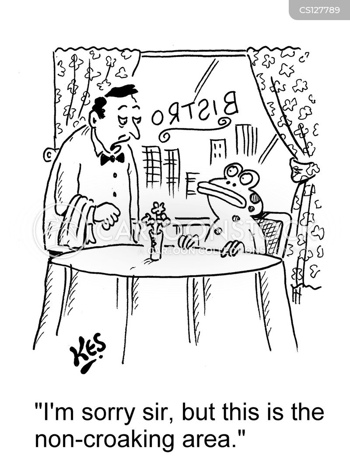 croak cartoon