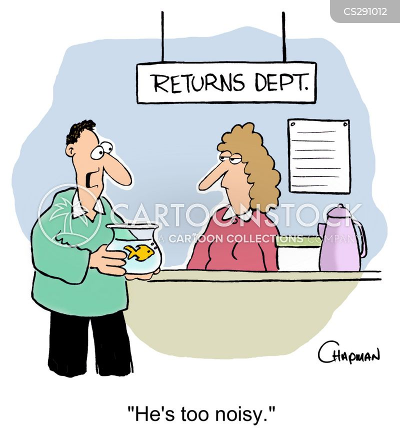 returns department cartoon