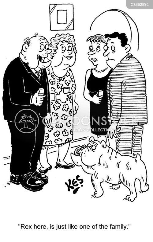 british bulldog cartoon
