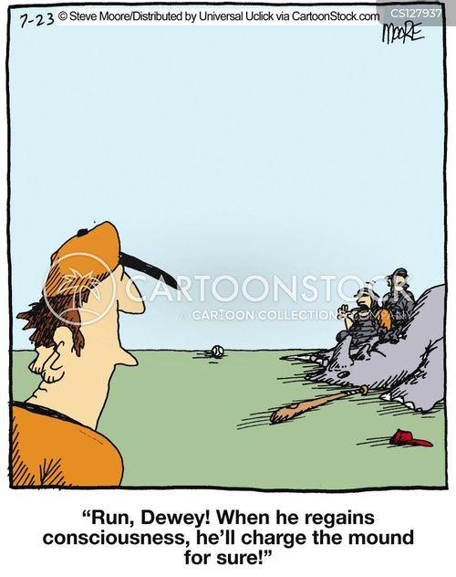 homerun cartoon