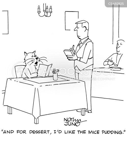 rice pudding cartoon