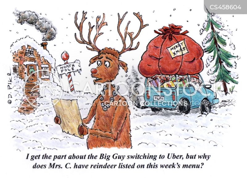 ride sharing cartoon