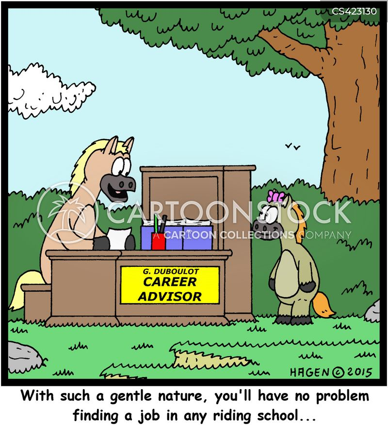 Job Options Cartoons and Comics - funny pictures from CartoonStock
