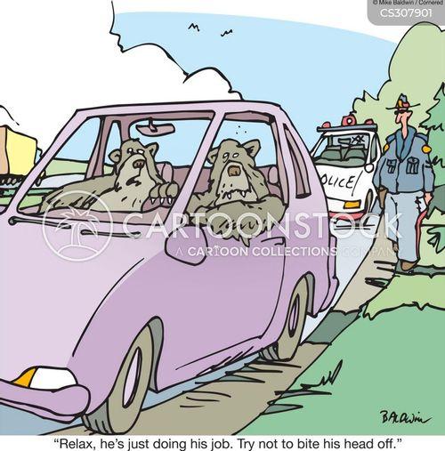 highway patrols cartoon