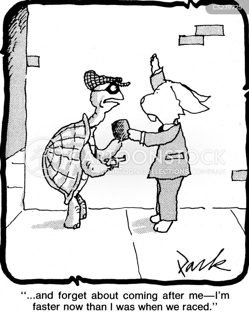 tortoise and the hare cartoon