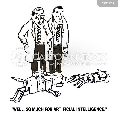 robot dog cartoon