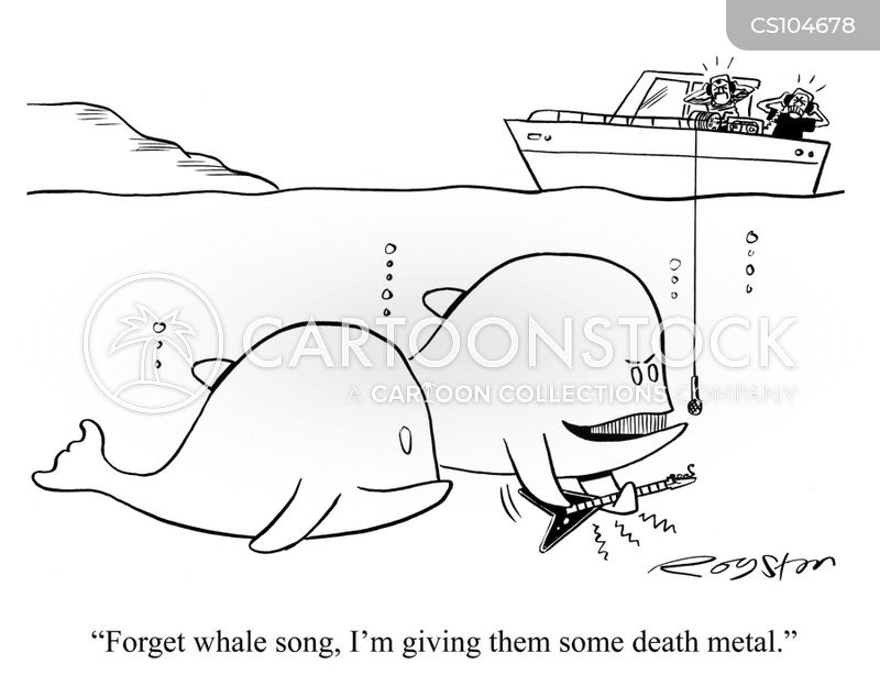 death metal cartoon