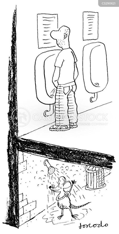 sewage pipe cartoon