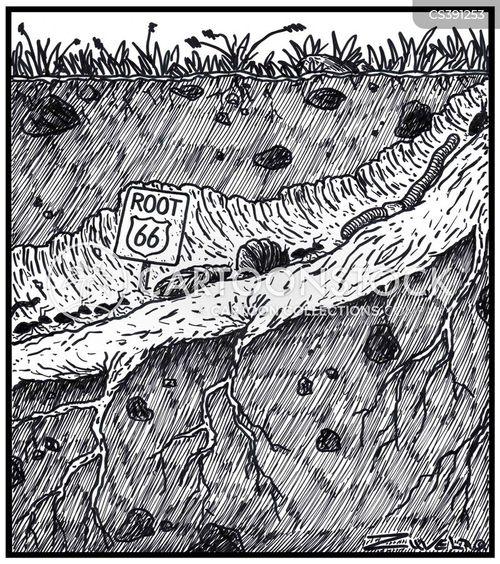 route 66 cartoon