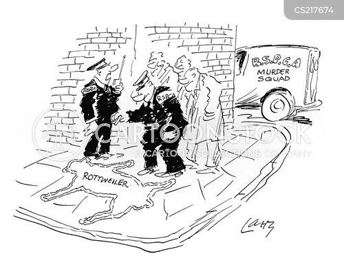rottweilers cartoon
