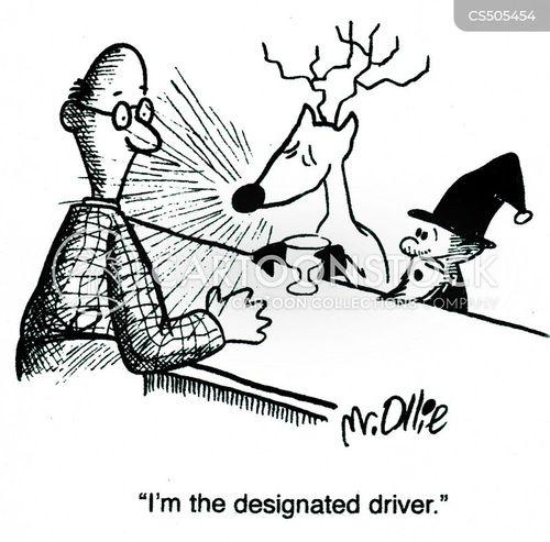 driving offenses cartoon