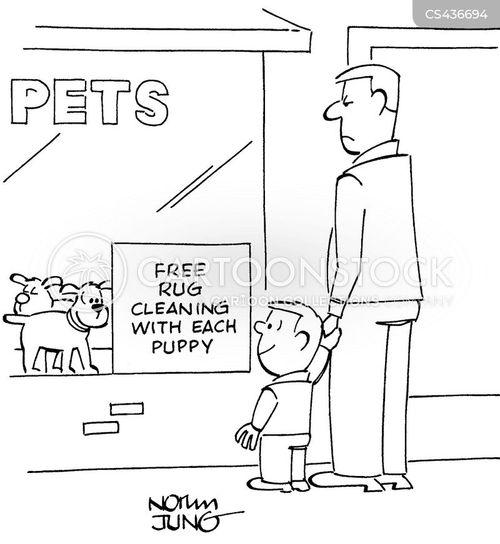house training cartoon