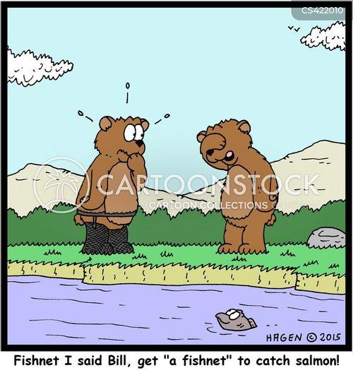 fishnet cartoon
