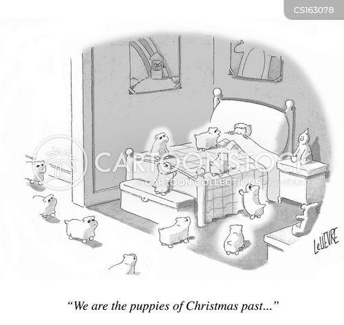 ghost of christmas past cartoon