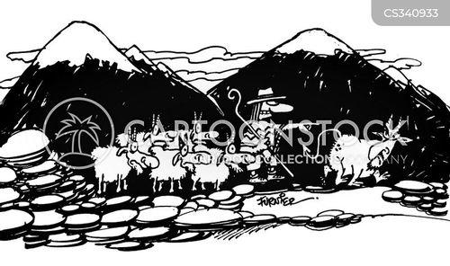 cloven hoof cartoon