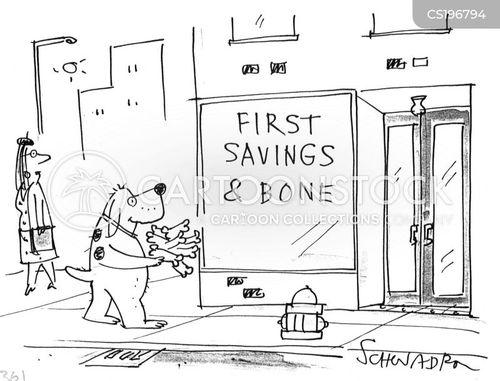 dogs bone cartoon
