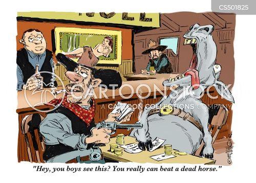 gunshot cartoon