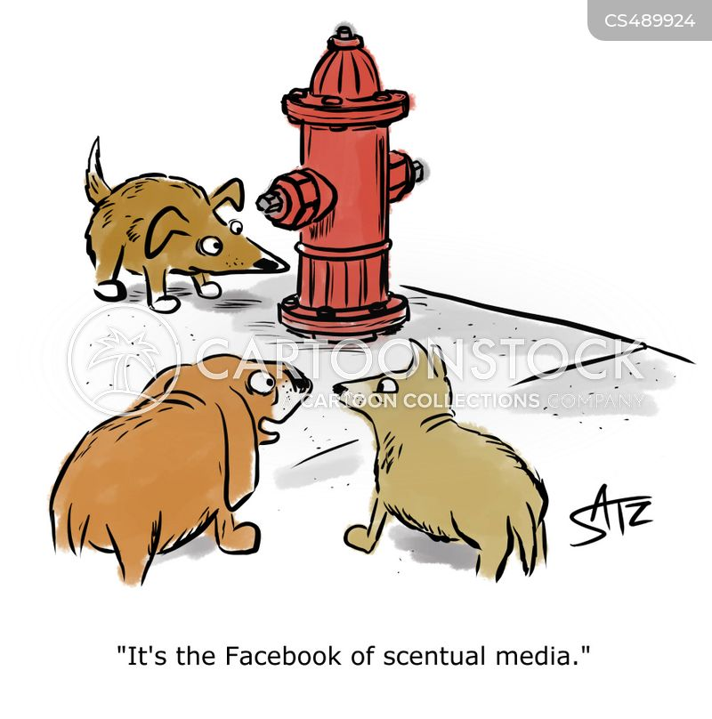 scent marks cartoon