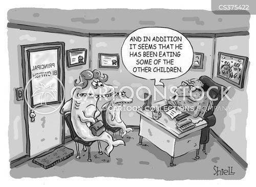 principals office cartoon