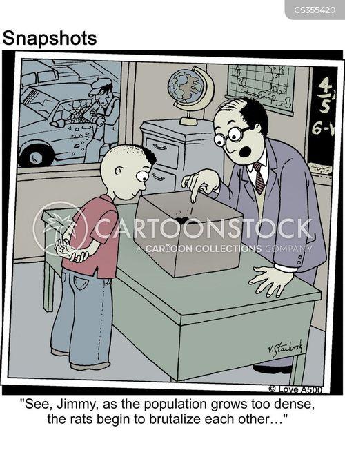 populate cartoon