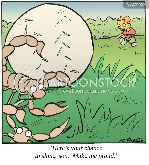 stinger cartoon
