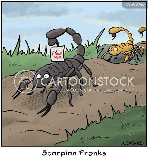scorpion cartoon