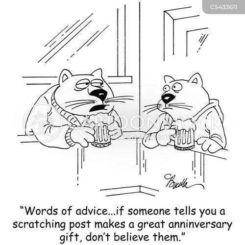 present idea cartoon