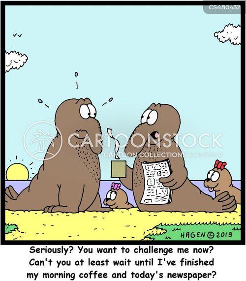 breeding seasons cartoon