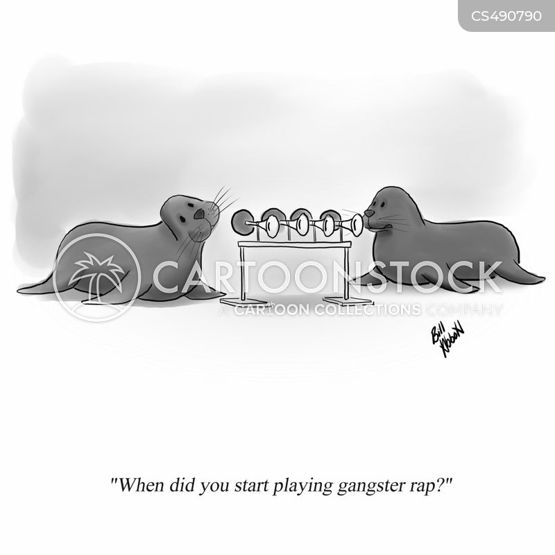 performing animals cartoon