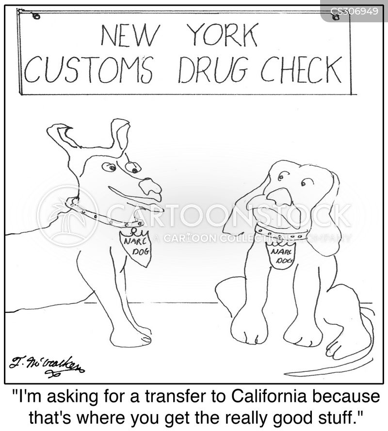 drug smugglers cartoon
