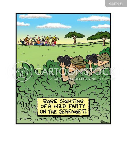 wild party cartoon