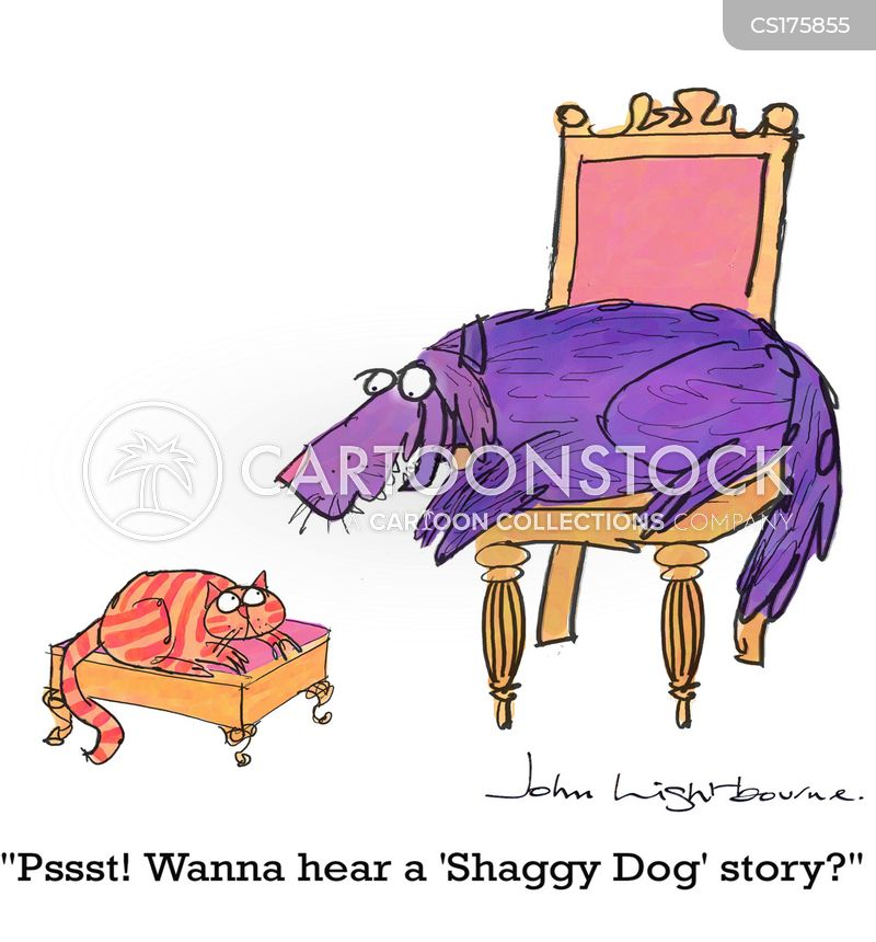 Shaggy Dog Story Cartoons and Comics - funny pictures from CartoonStock