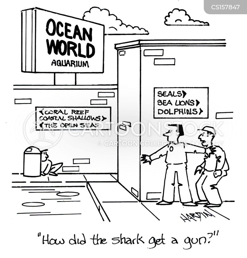 shark tank cartoon