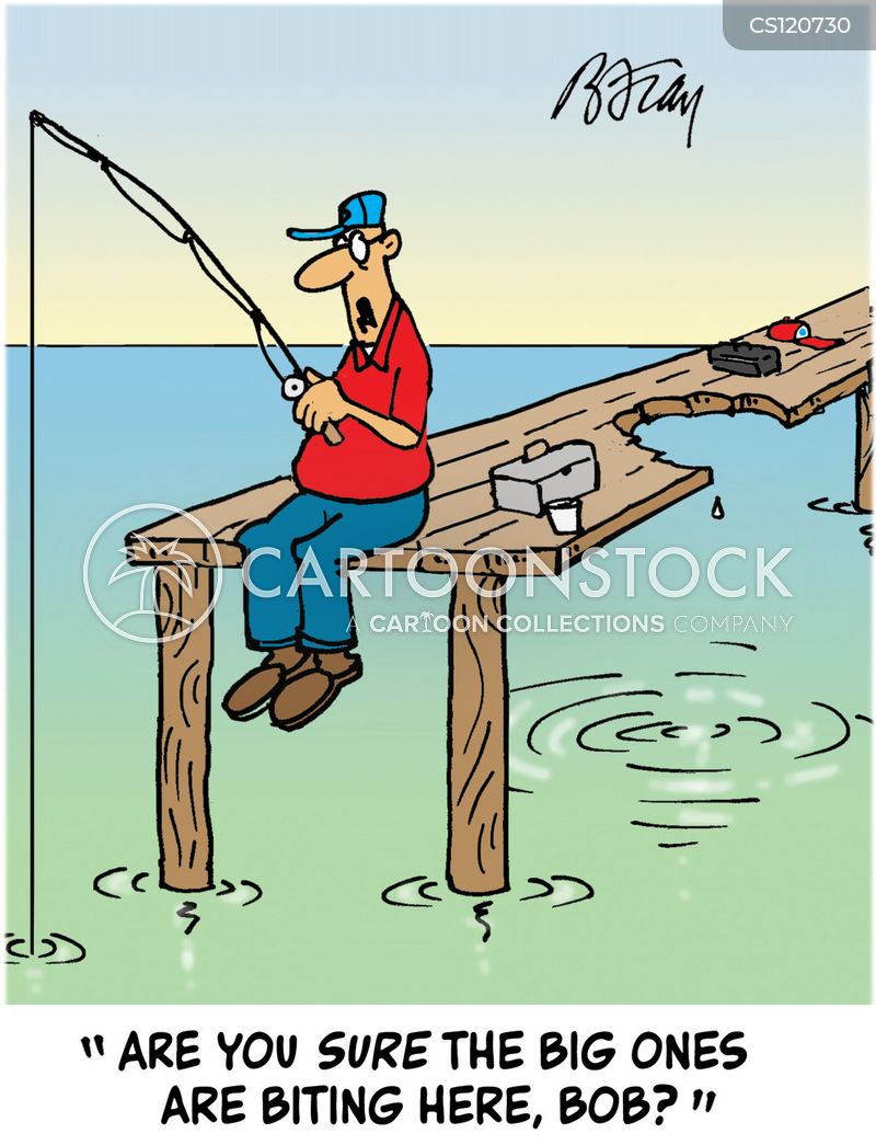 Fishing spots cartoons and comics funny pictures from for Funny fishing cartoons
