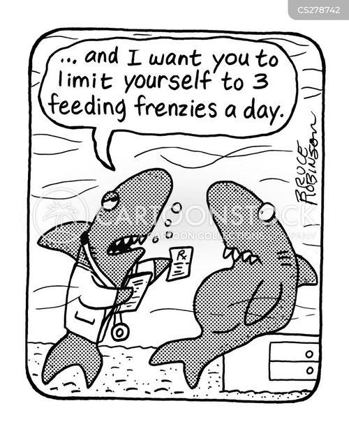 feeding frenzies cartoon