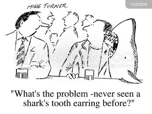 earings cartoon