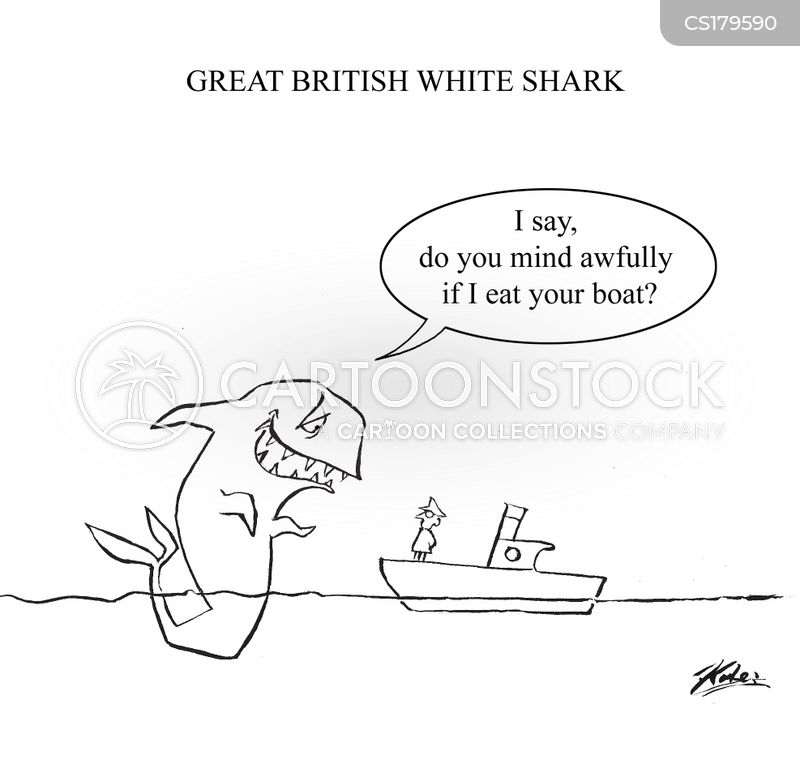 jaws cartoon