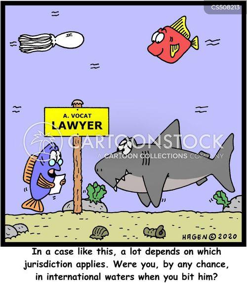 international waters cartoon