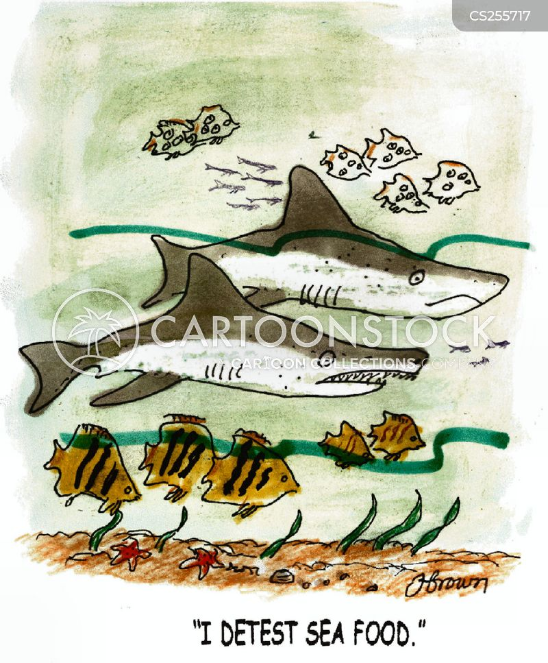 sea-foods cartoon