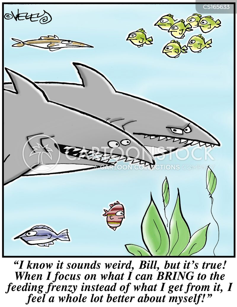 feeding frenzy cartoon