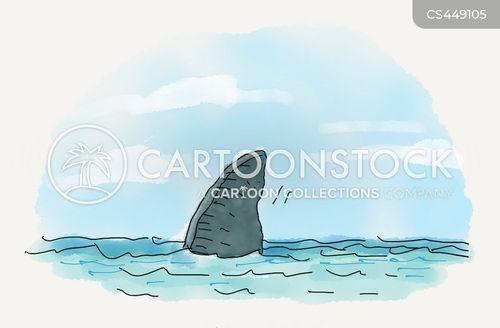 beach scenes cartoon