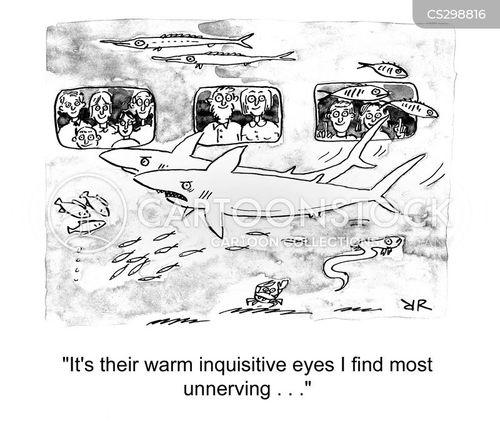 unnerving cartoon