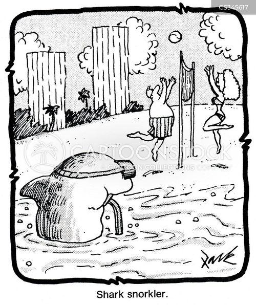 snorklers cartoon