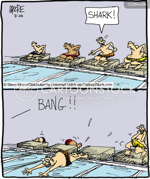 swam cartoon