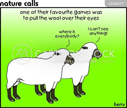 blinding cartoon