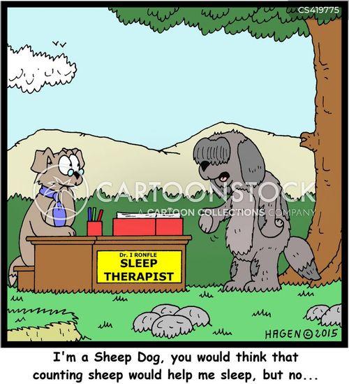 sheep dogs cartoon