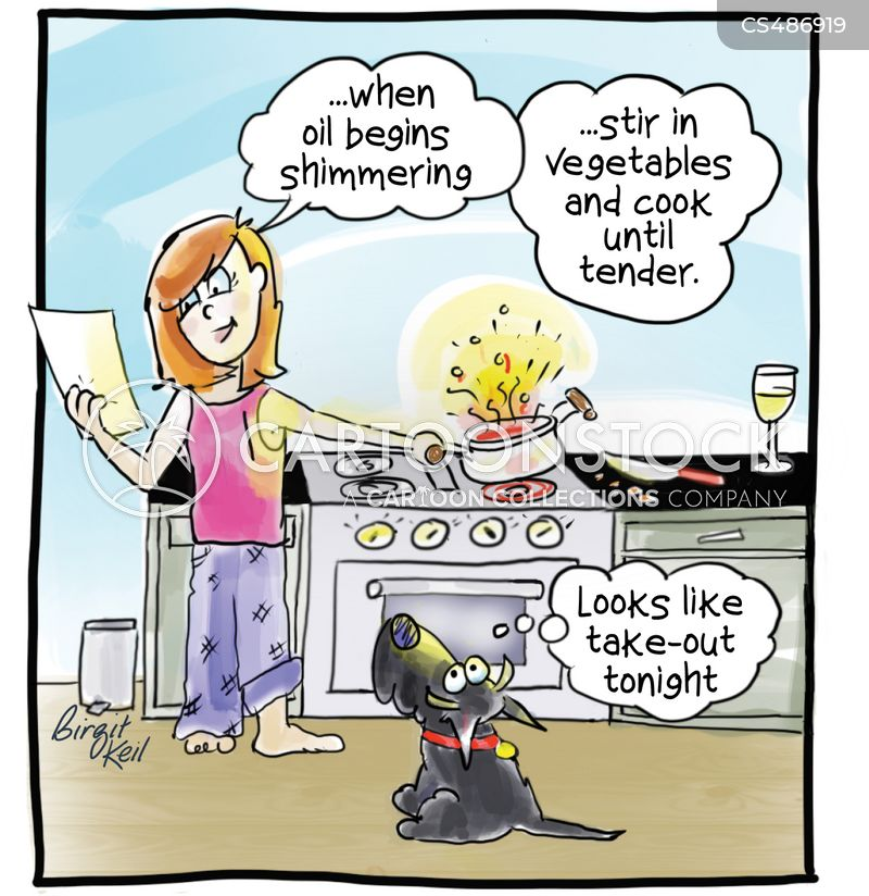New Recipe Cartoons and Comics - funny pictures from CartoonStock