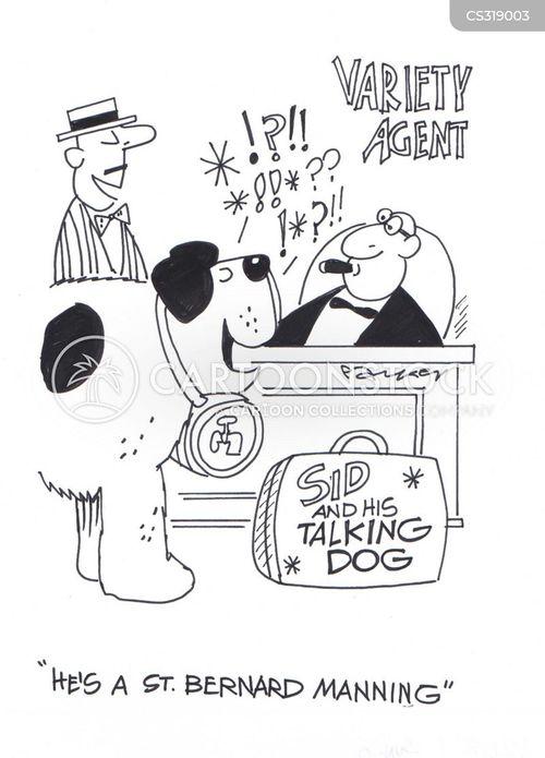 talent agencies cartoon